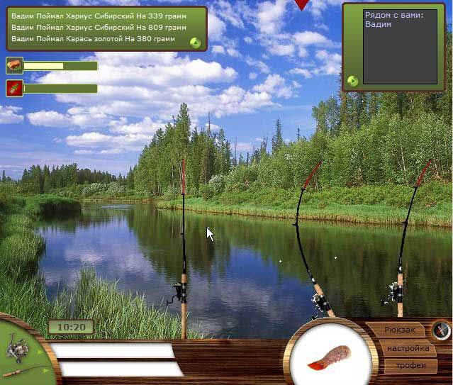 Рыбалка игра скачать на компьютер торрент