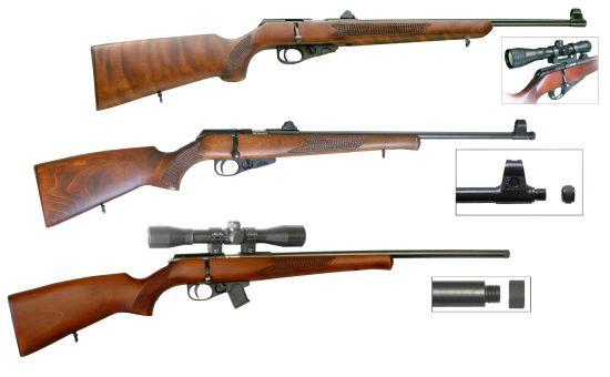 завод, охотничьи ружья
