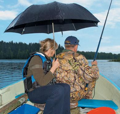 ловят ли рыбу при дожде