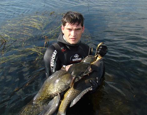 подводная рыбалка в иркутской области