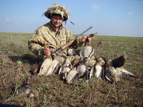 Чучело для охоты на утку