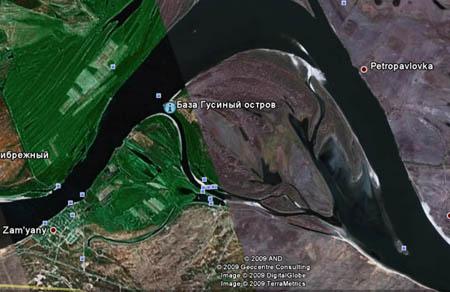 гусиный атолл рыболовная база