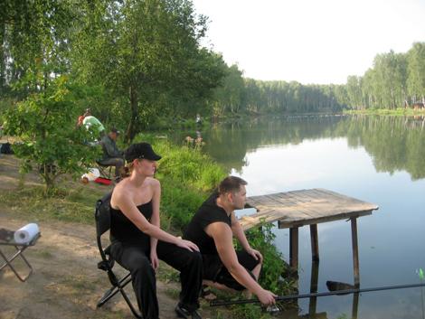 рыбалка на тимирязевских прудах русфишинг