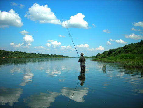 река ока рыбалка в мае