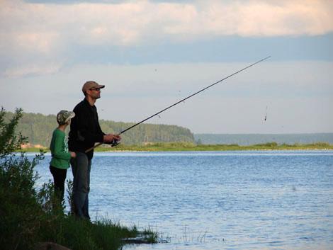 отдых и рыбалка на волге в казани