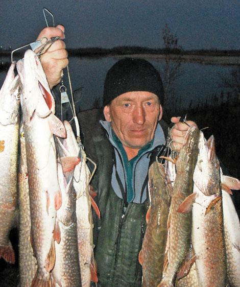 рыбалка на малых лесных озерах