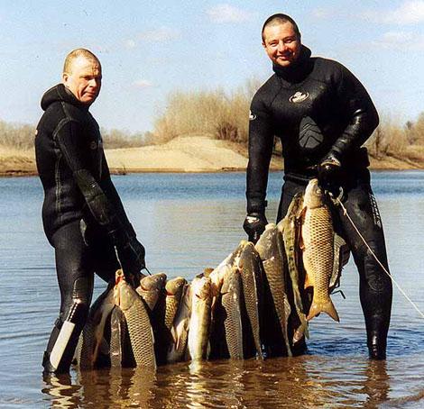 что нужно для подводной рыбалки документы