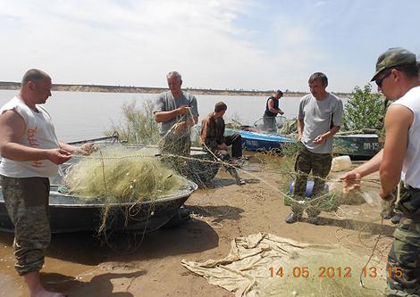 рыбалка запрещена саратов