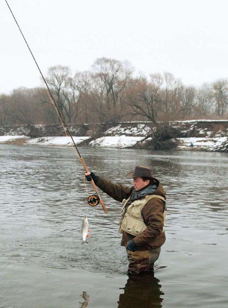 рыбалка на охладителе видео