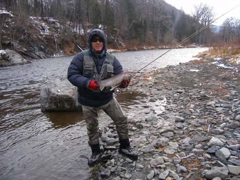 рыбалка на лангери