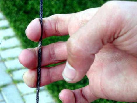 Пальцы на тетиве