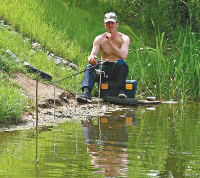 Донно - попловочная снасть для ловли леща.
