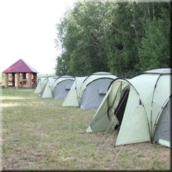 Кемпинг отдых, прокат палаток на безе отдыха Барсучок