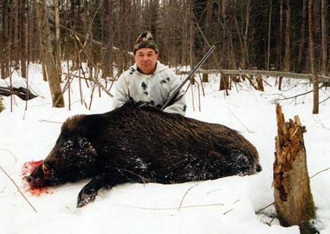 Охота в Новосибирской области