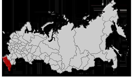 Получите свою карту путешествий тут.  Вот где я успела побывать в пределах России.
