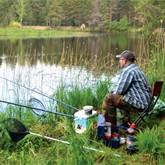 на что ловить рыбу летом в озерах