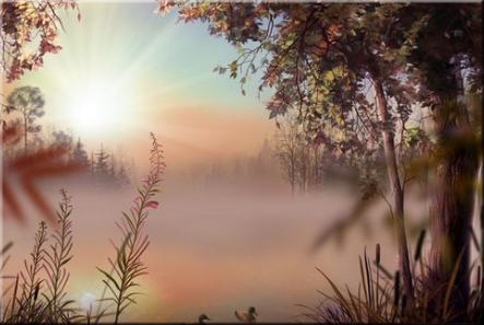 Fog Lake Screensaver 1.1 Build 2